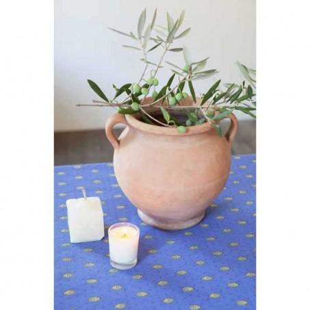 Stain resistant tablecloth Bastide bordure, Marat d'Avignon