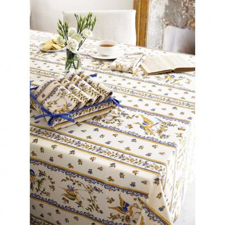 Wedding tablecloths, Moustiers print