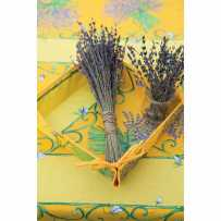 Rectangular stain resistant tablecloth, Bouquet de lavande
