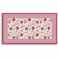 Tapis de table rectangulaire Montespan