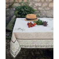 Square table mat Auriol in scene
