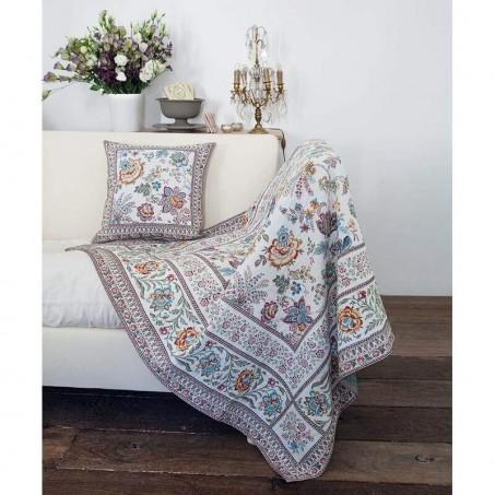 Square plaid woven Jacquard Garance