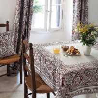 tapis de table carrée Cashmir