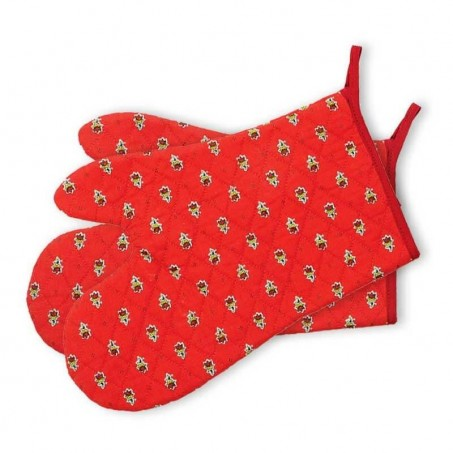 Red oven gloves Avignon, Marat d'Avignon