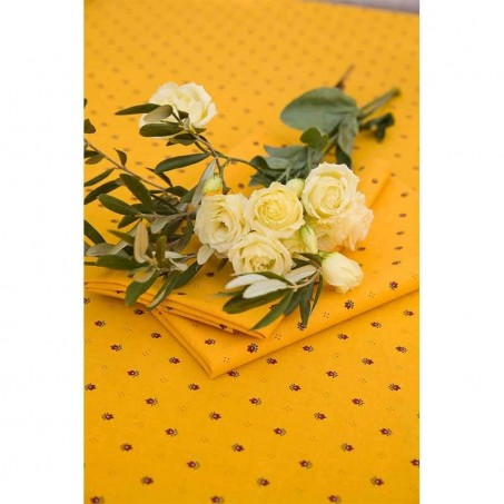 Fabric napkins, Calissons print