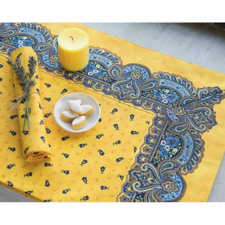 Cotton napkins, Tradition print, Marat d'Avignon