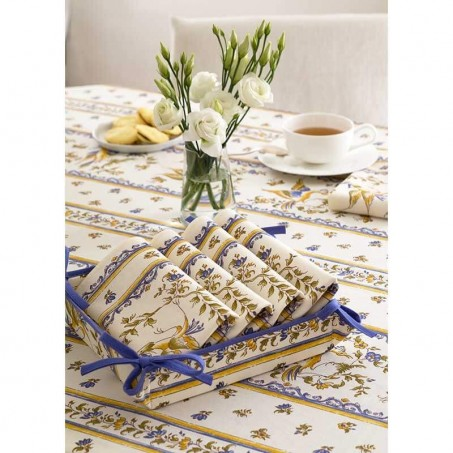 Fabric tidy printed Moustiers