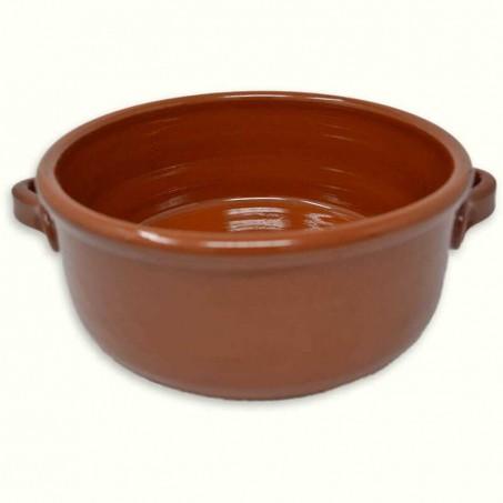 Faitout ceramique en terre cuite pour four