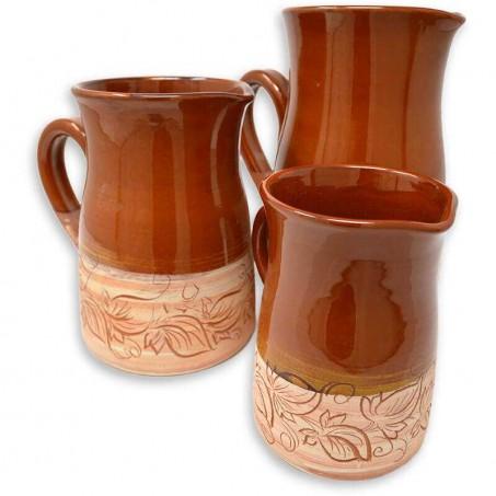 Pichet provencal en poterie de Vallauris