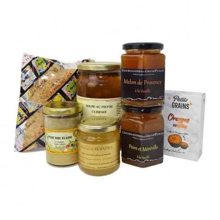 Vegetarian gourmet box