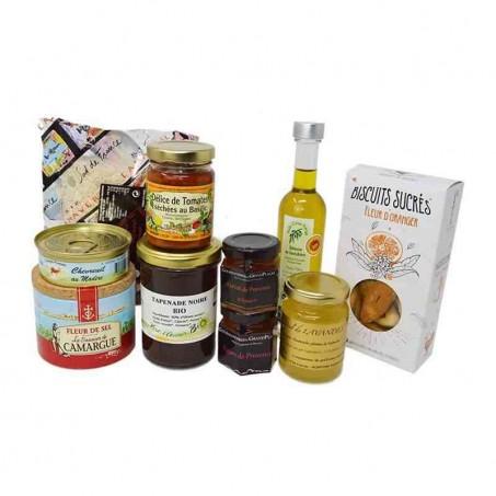 Coffret gourmand dégustation de Provence