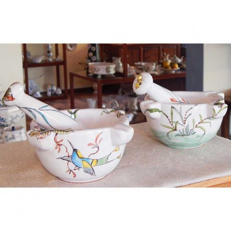 smokers pot ashtray in faience from Moustiers