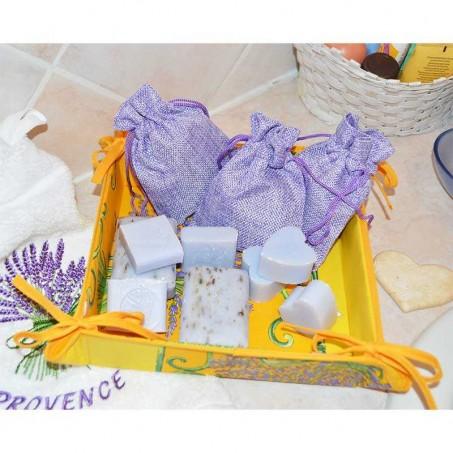 Tidy printed Bouquet de lavande