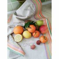 kitchen hand towels Jacquard Lavender
