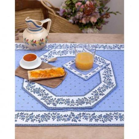 Sets de table octogonal matelassé