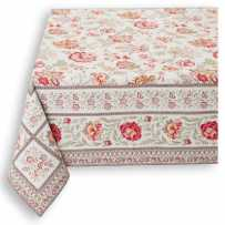 Square table mat Garance red