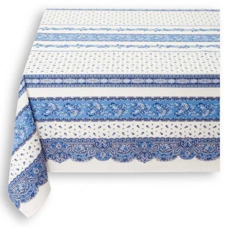 Small tablecloth Tradition stripe, Marat d'Avignon white