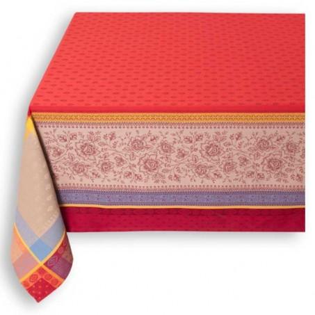 woven cotton tablecloth