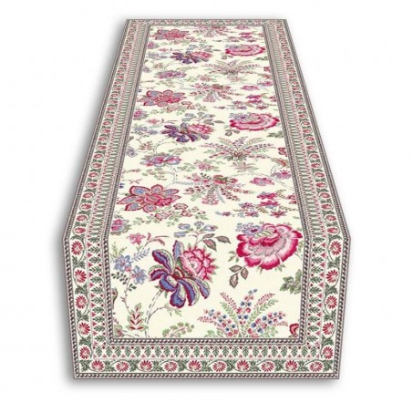 Table runner Garance pink