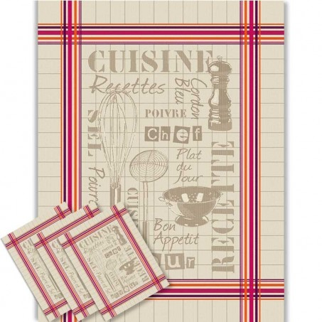 Kitchen towel sets jacquard, Cuisine decor