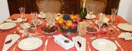 How to set a Christmas table the Provencal way for a magic xmas dinner