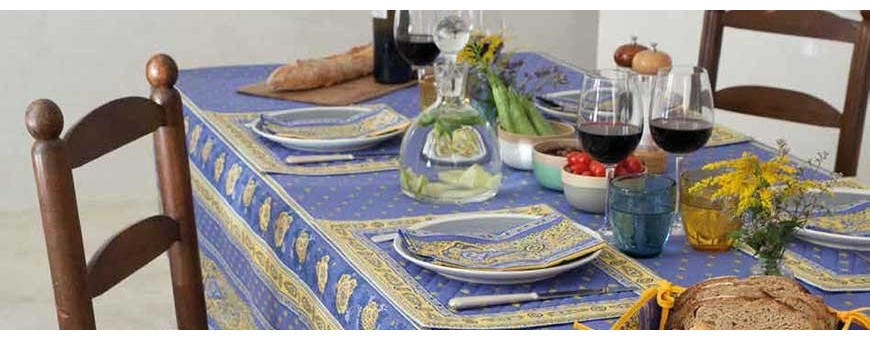 We propose affordable and authentic table linens made in Provence !