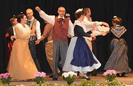 Dances and costumes of Provence