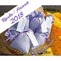 Provence lavender sachet bags