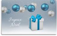 Carte cadeau Noël