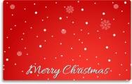 Gift card Christmas